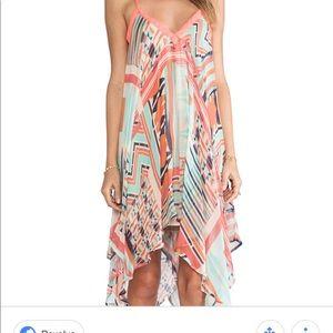 Multi Strap Handkerchief Dress